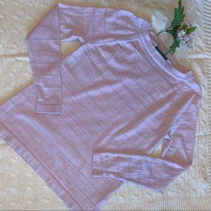 Banana Republic, S, merino wool sweater, pink, EUC